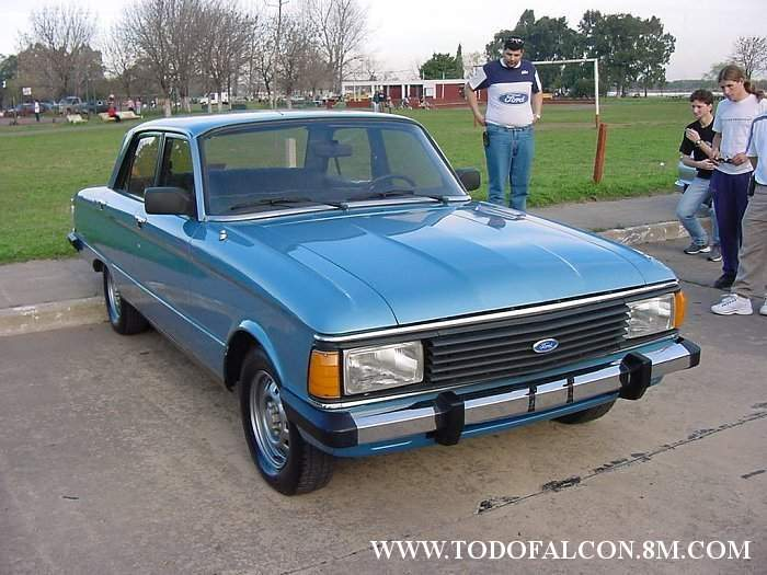 Un Ford Falcon 0 km