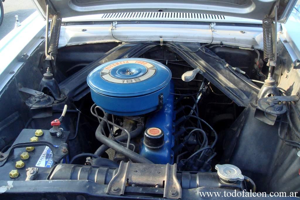 Despiece De Motores Ford Falcon