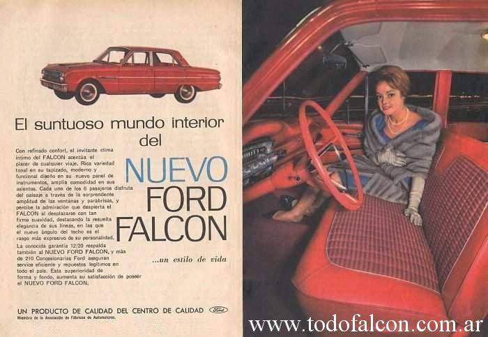 50 años del Ford Falcon en Argentina